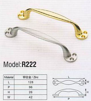 R215 Colorful Hardware Zinc Furniture Handle pictures & photos