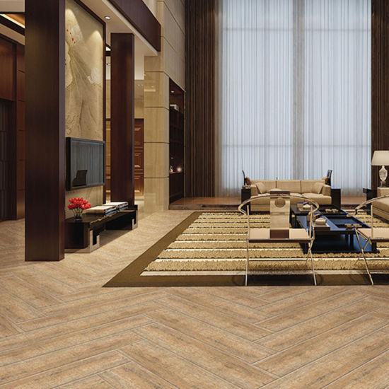 China Foshan Wooden Ceramic Glazed Polished Tiles Manufacture