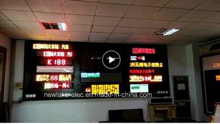 Programmable Message LED Display for Bus Route
