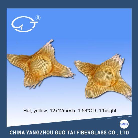 High Temperature Resistance Customized Shape Molten Metal Casting Filter Mesh