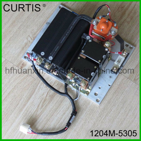 China Curtis Programmable DC Series Series Excitation Motor