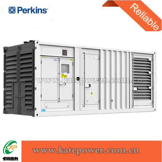 600kVA 650kVA Silent/Open Diesel Generator Set with Perkins 2806 Series Engine