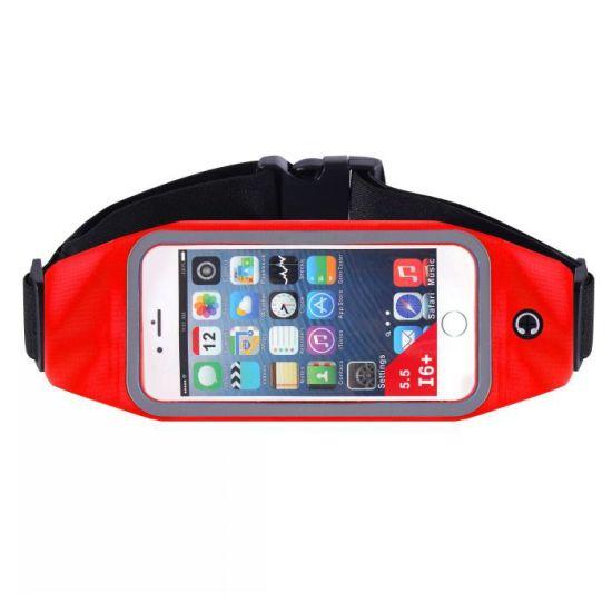 Unisex Running Belt Waterproof Fanny Pack Waist Bag Phone Earring Holder Case