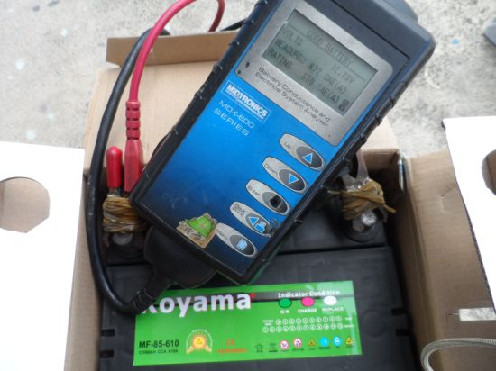 Koyama Brand New Design Bci85 Maintenance Free American Car Battery 12V60ah pictures & photos