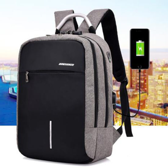 3890f12df2ac New Arrival Manufacturer Factory USB Charging Student College Backpack  Business Laptop Computer USB Backpack