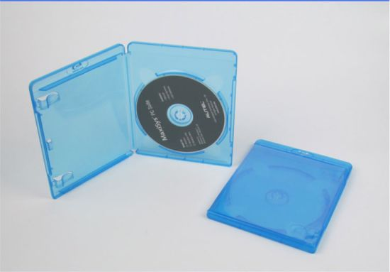 Blue Ray DVD Cocer DVD Case DVD Box Rectange PP 11mm Single pictures & photos