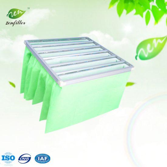 Coarse G4 Synthetic Fiber Pocket Air Filter for HVAC and Ventilation System