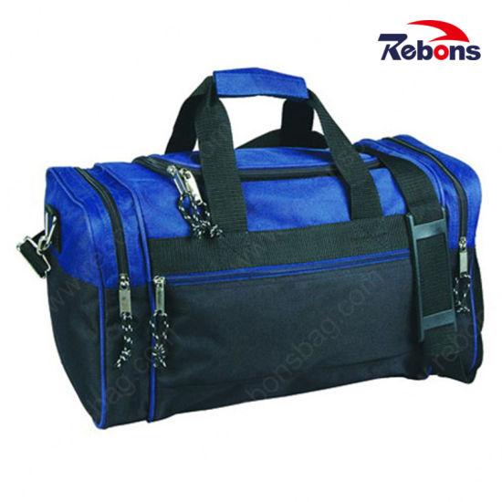 European Classical Multi-Function Designer Quality Leather Duffle Bag Travel Duffel Bag