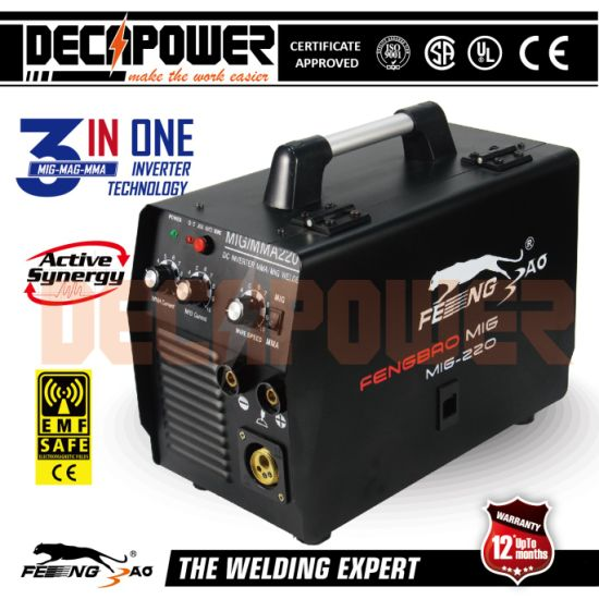 3in1 Mult Process 140A/160A/180A/200A MIG MMA Welder with Ce
