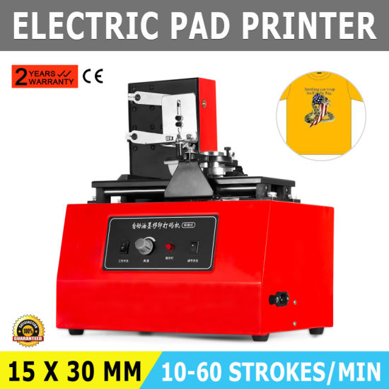 Vevor Electric Pad Printing Machine Move Ink Printing pictures & photos