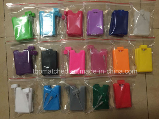 20ml Plastic Credit Card Flat Spray Bottle Pocket Size Card Perfume Sprayer pictures & photos