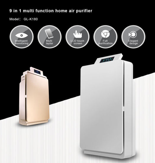 Home Air freshener HEPA Ionizer Air Purifier K180 pictures & photos