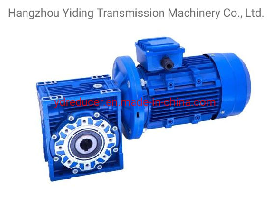 Chinese Best Quality Wholesale Worm Gearbox with Electric Servo Motor