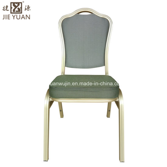 Stacked Hotel Wedding Banquet Aluminum Chair Rental