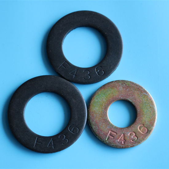 F436 M33 Carbon Steel Flat Washers pictures & photos