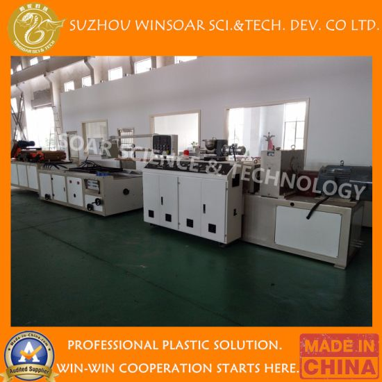 Winsoar Plastic Recycling PE/PE WPC/ PVC/ PVC WPC Double Screw Type Sjz65/132, Sjz80/156, Sjz 92/188 Extrusion Line/ Making Machine/Extruder Machine
