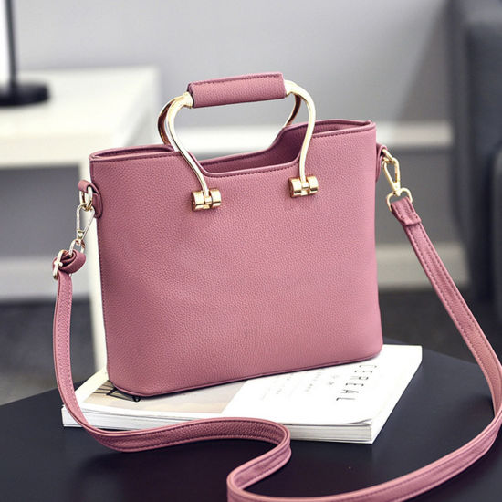 Different Colors Leather Handbags Las Bags With Beautiful Design