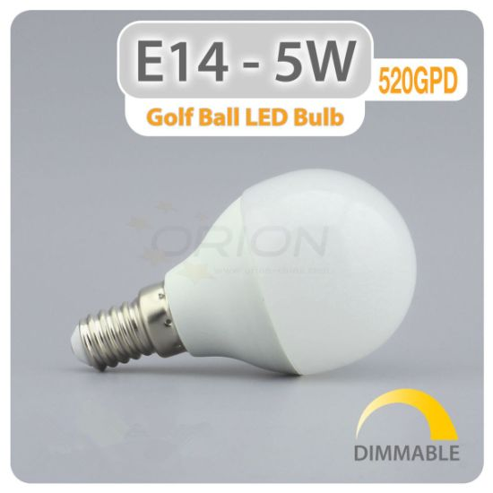 Energy Saving 5W E14 LED Bulb Lamp pictures & photos