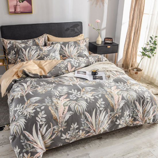 Luxury T-300 100/% Egyptian Satin Cotton Duvet Cover//Bedding Set With Pillowcases