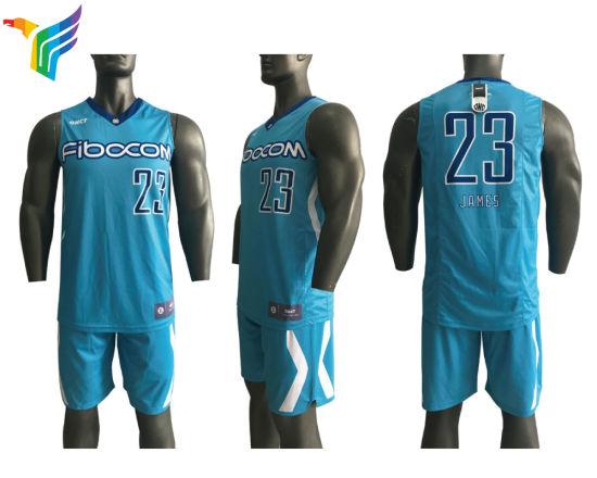 China 2018 Latest Sublimated Custom Basketball Jersey Design ... ff8835641