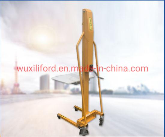 China Manufacturer M100 Manual Paper Roll Stacker 100kg/200kg