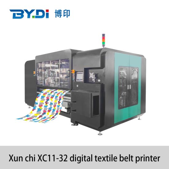 China Factory High Speed Large Format T Shirt Cotton Fabric Digital Printing Machine for 32 Ricoh G6 Print Head