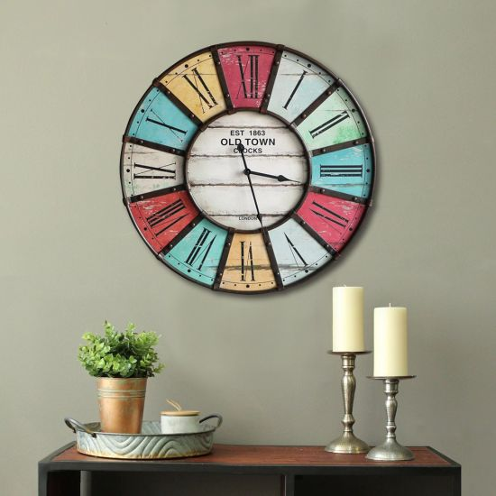 Decoration Hanging Round Clock, Big Round Clock