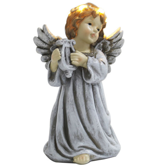 Wholesale Small Table Decor Craft Home Decor Resin Angel Figurine