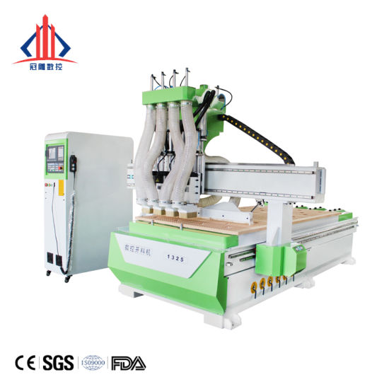1325 Woodworking CNC Router Atc for Wooden Door Furnitures Cabinets/ 1530 Wood Caving/Engraving and Cutting Machine / 3D MDF Plywood Acrylic Cutting Machinery