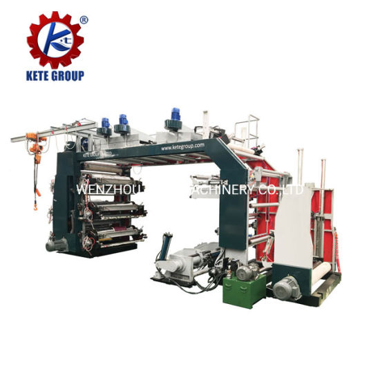 High Speed Roll to Roll PE Coated Laminate Kraft Paper Printing Machine for Aluminum Foil Paper Bag or Paper Roll or Paper Shopping Bag Cheap Price