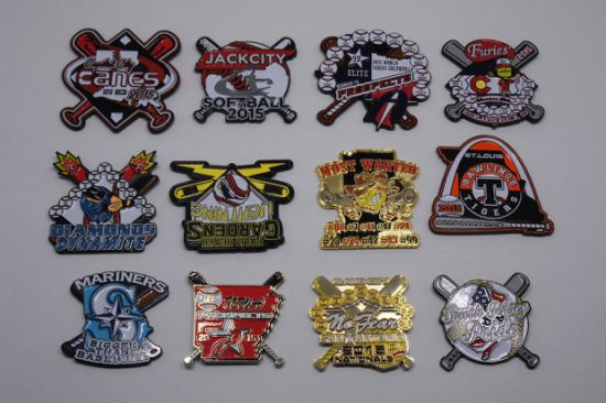 Baseball Lapel Pin, Custom Baseball Pins, Baseball Trading Pins