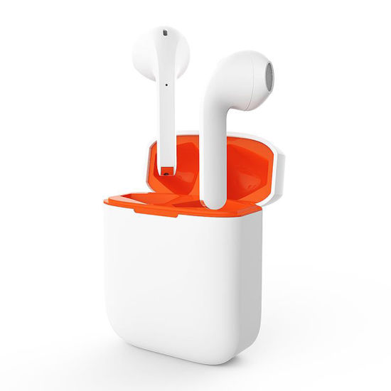 Wireless Stereo in-Ear Bluetooth Headset with Mic Touch Control
