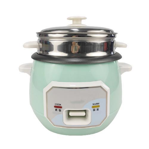 Housewares 3-Cup (Cooked) Pot-Style Rice Cooker and Food Steamer 0.6L/0.8L/1L/1.2L/1.8L