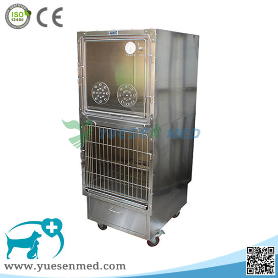 Yuesenmed Veterinary Hospital Medical Stainless Steel Pet Dog Bird Cage pictures & photos