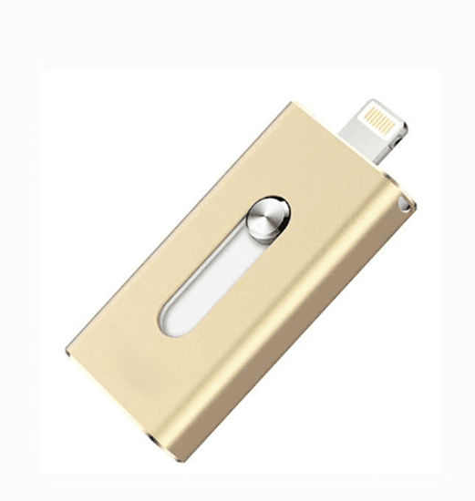 3 in 1 USB Flash Drive TF Card Reader for iPhone iPad Mac pictures & photos