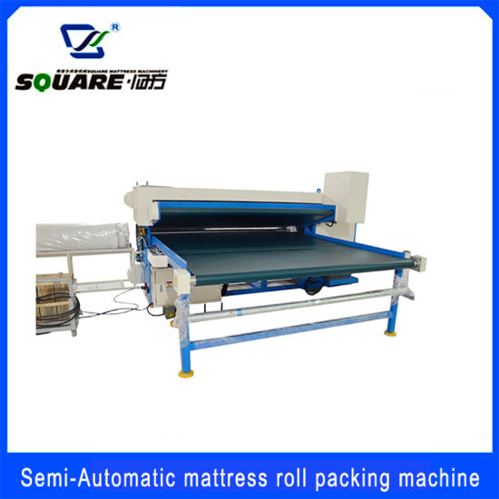 Automatic Mattress Rolling Packing/Wrapping Machine