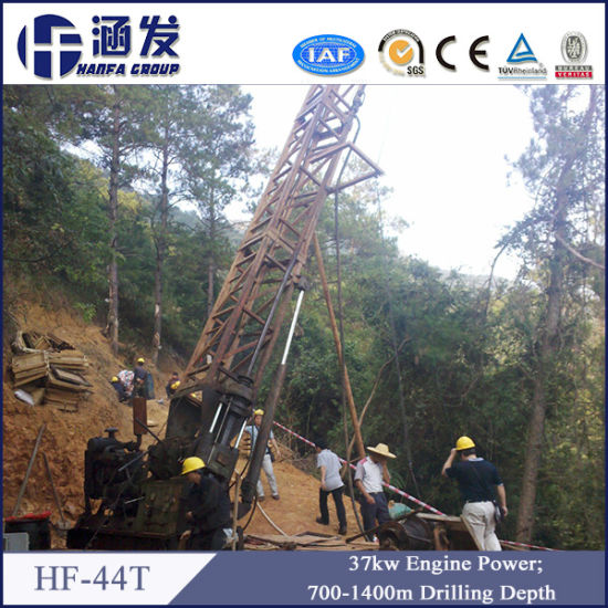 Alloy and Diamond Core Drilling Rig (HF-44t) pictures & photos