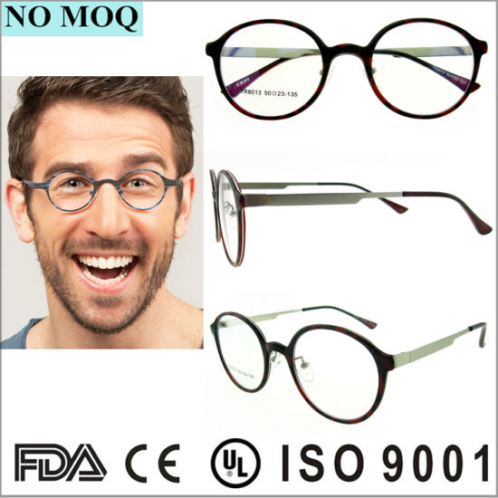 4eba272291e Latest Model Spectacle Frame Italy Design Round Tr90 Glasses Frames  pictures   photos