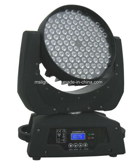 108*1W/3W/5W RGB/RGBW/RGBA/UV/Wa LED Zoom Moving Head Light