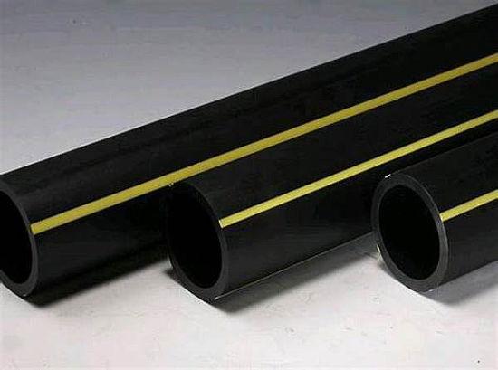 China Pn16 PE100 Pipe SDR 17 6 Black HDPE Gas Pipe 3 Inch