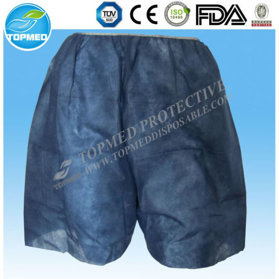 fa620a512c00 Disposable Hospital Disposable Panties, Nonwoven Examination Pants, Hospital  Patient Pants pictures & photos
