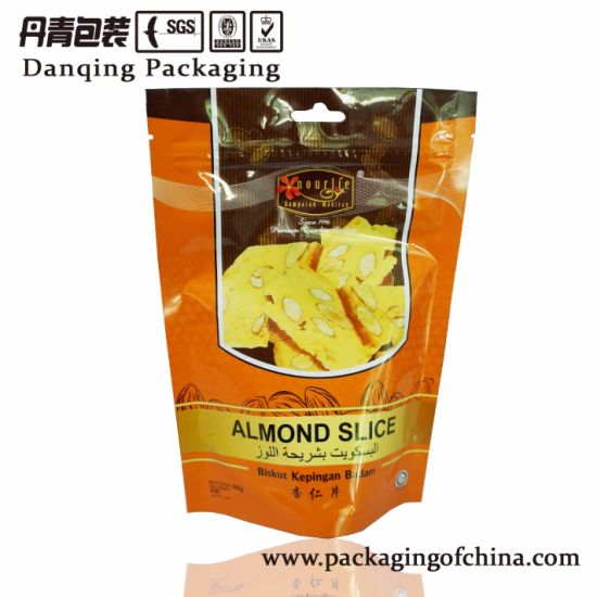 Food Plastic Packaging Pouch with Top Zipper pictures & photos
