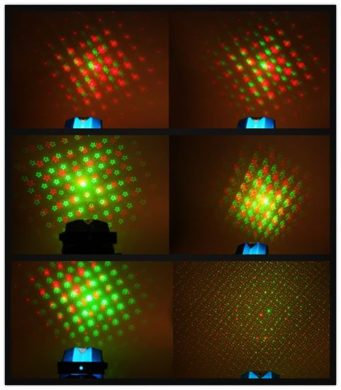 Disco Party DJ DOT Gobo Pattern Multi Mini Laser Light for Christmas pictures & photos