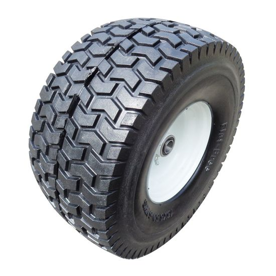 Solid Wheel PU1604 Flat Free PU Tires and Wheels for Trailer