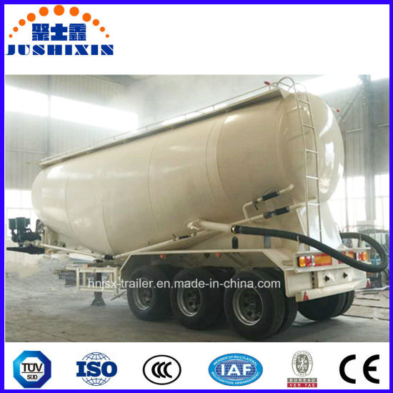 3 Axles Bulk Cement Powder Tank Trailer for Sale pictures & photos