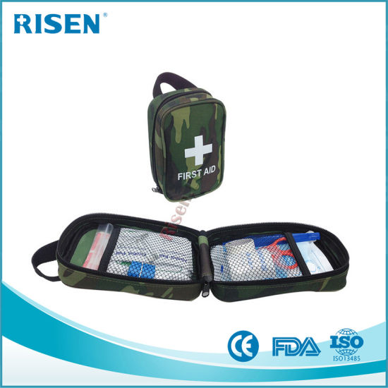 China Fully Stocked Molle Tactical Trauma Kit First Aid