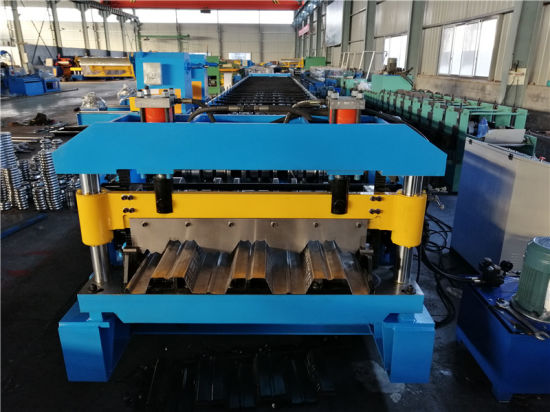 Automatic Steel Sheet Deck Floor Roll Forming Machine