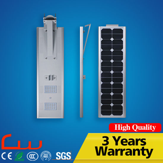 Outdoor 30W 5m Integrated LED Solar Street Light pictures & photos