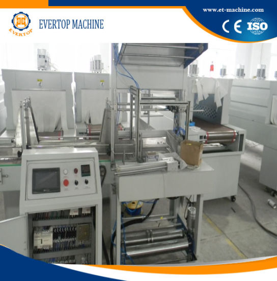 Semi-Auto Beverage Film Wrapping Packaging Machine pictures & photos