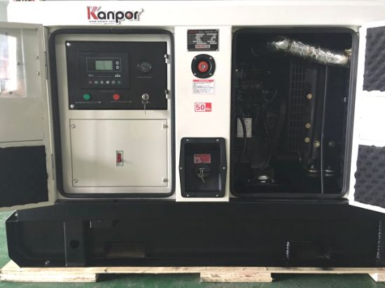 China 45kVA 36kw Power by Famous Yanmar Engine Silent Diesel